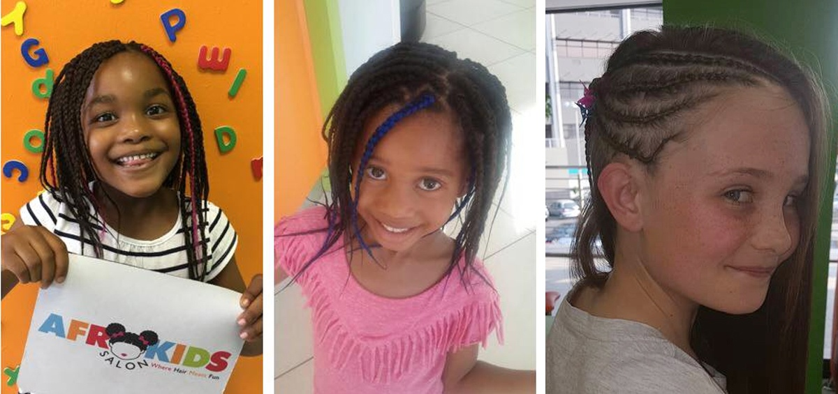 Afrokids salon is styled for success