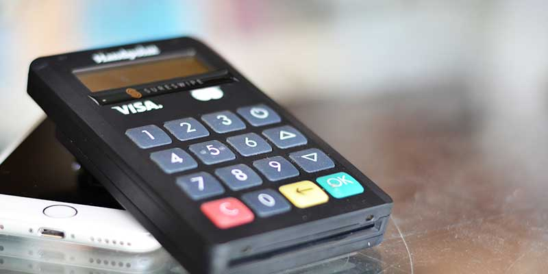 Error codes on your card machine