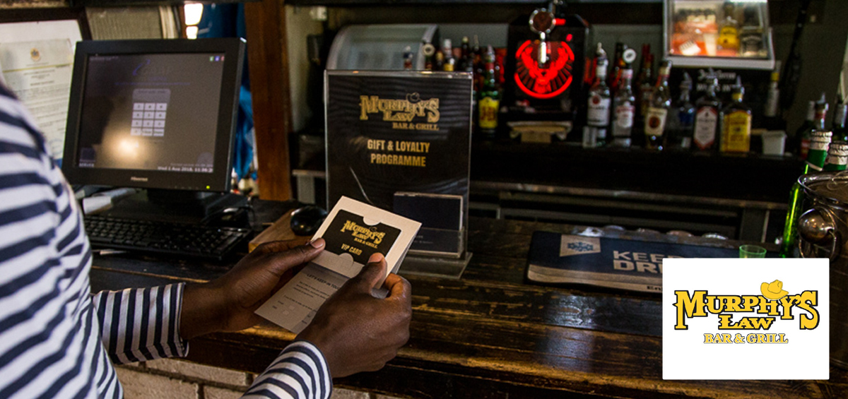 Murphy's Law Bar & Grill fires up its fanbase with Sureswipe